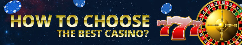 A large selection of internet casino