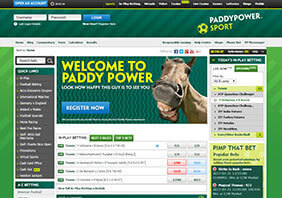 1 Screen paddypower  282x198 1 Paddy Power Casino Review