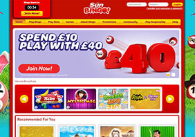 screen Sun Bingo Casino 282x198 1 Sun Bingo Casino Review