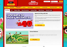 screen Sun Bingo Casino 282x198 2 Sun Bingo Casino Review