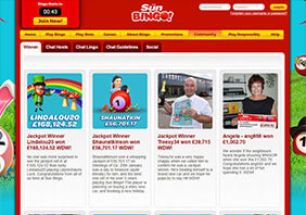screen Sun Bingo Casino 282x198 6 Sun Bingo Casino Review
